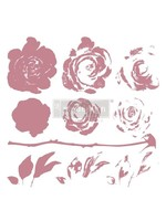 Re-Design with Prima® Mystic Rose Clear Cling Stamps