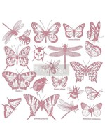 Re-Design with Prima® Monarch Collection Clear Cling Stamps