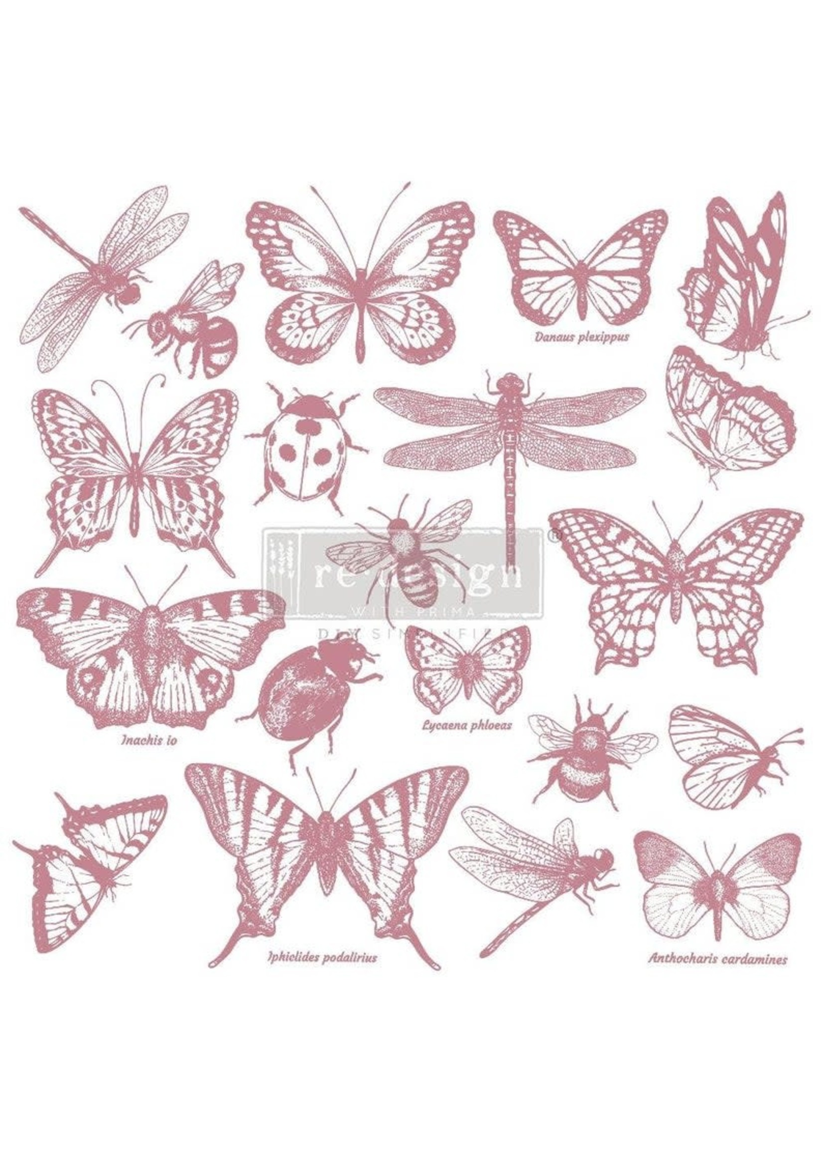 Re-Design with Prima® Monarch Collection Re·Design with Prima® Clear Cling Stamps