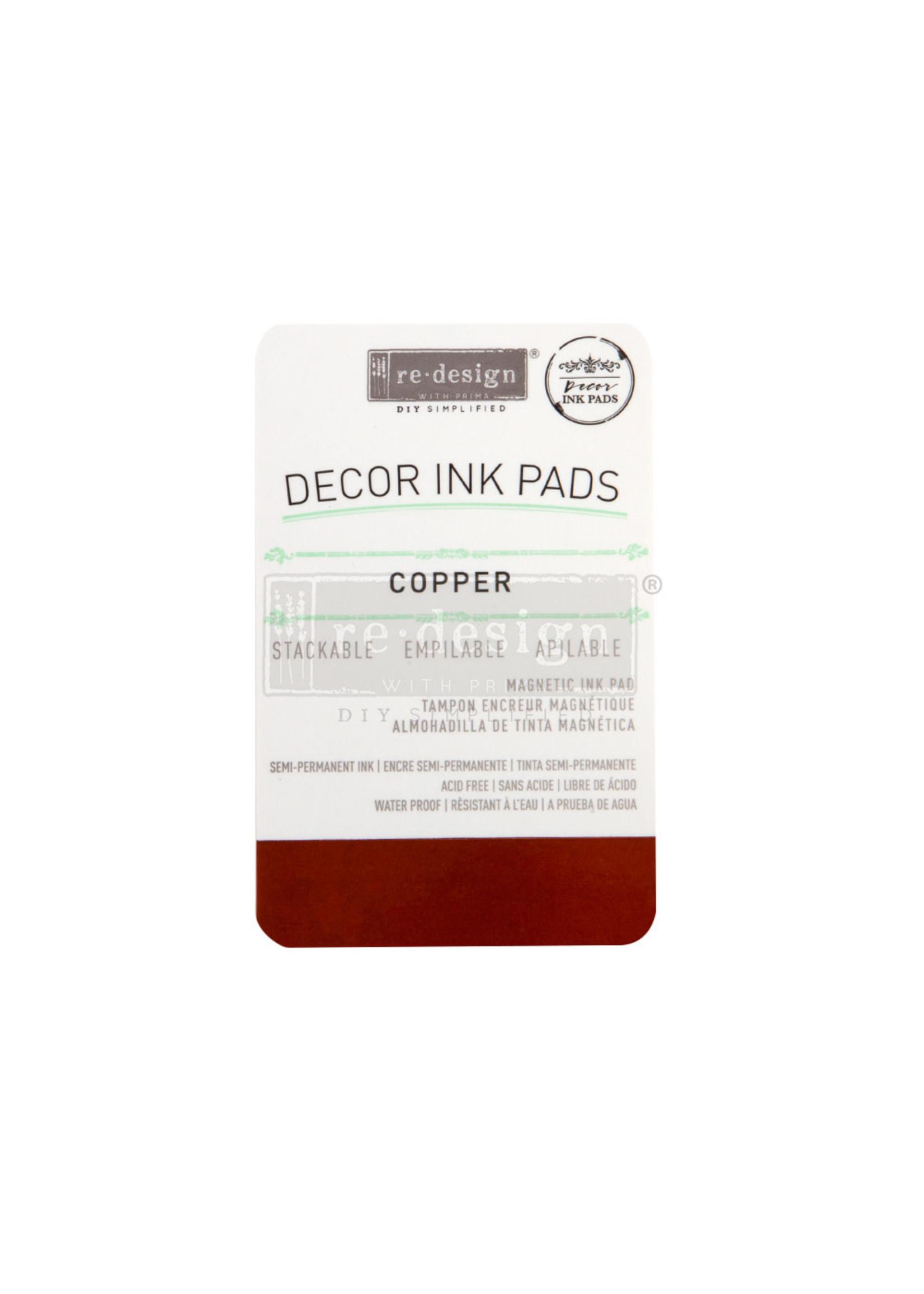 Re-Design with Prima® Copper Re·Design with Prima® Decor Ink Pad