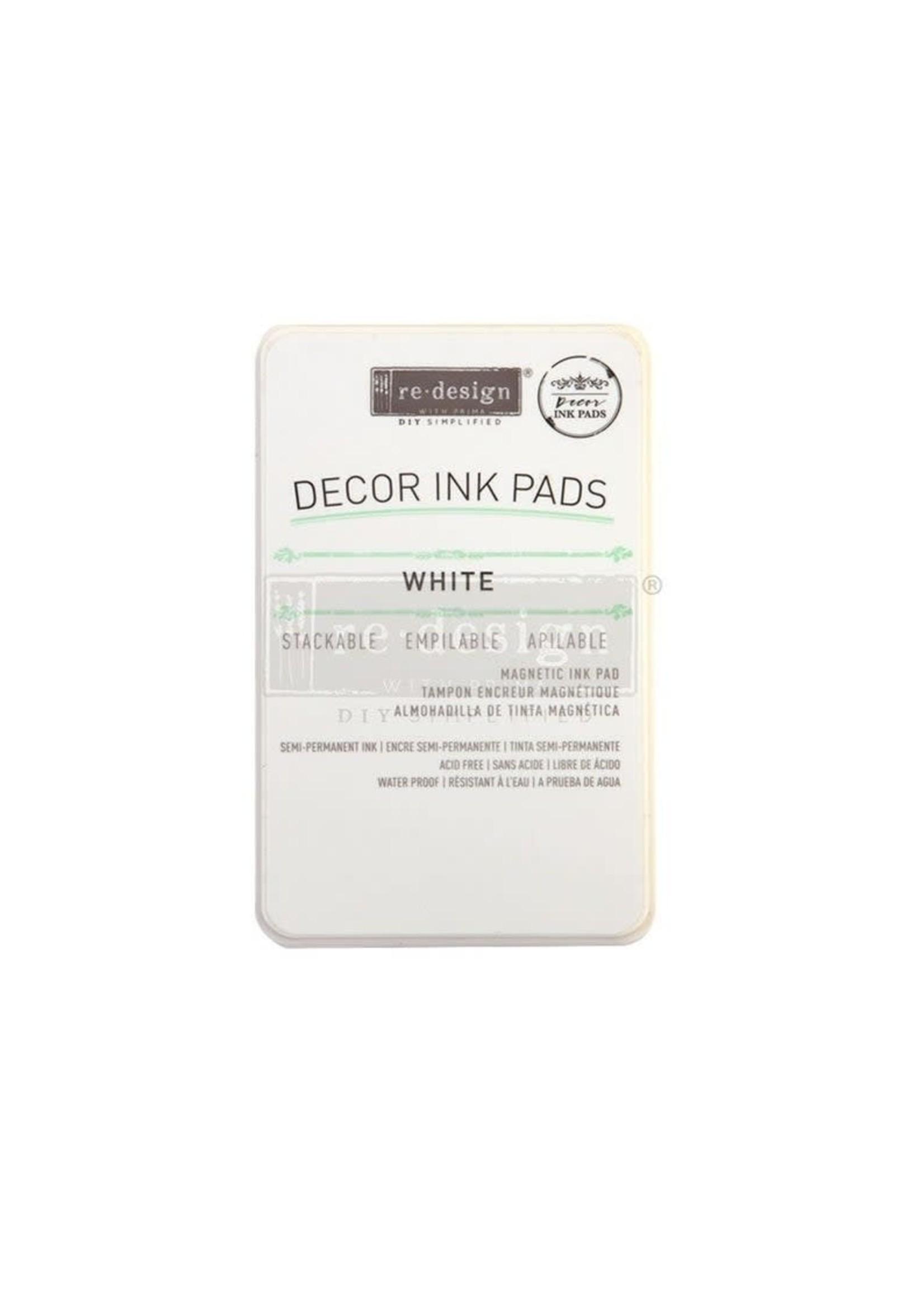 Re-Design with Prima® White Re·Design with Prima® Decor Ink Pad