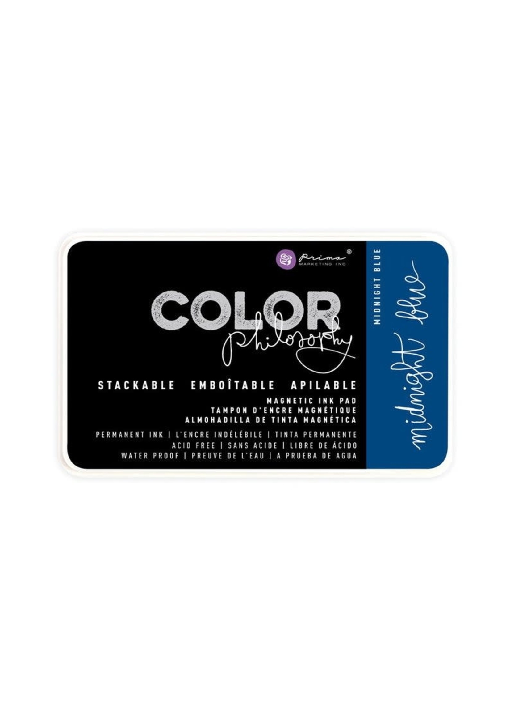 Re-Design with Prima® Midnight Blue Color Philosophy Ink Pad