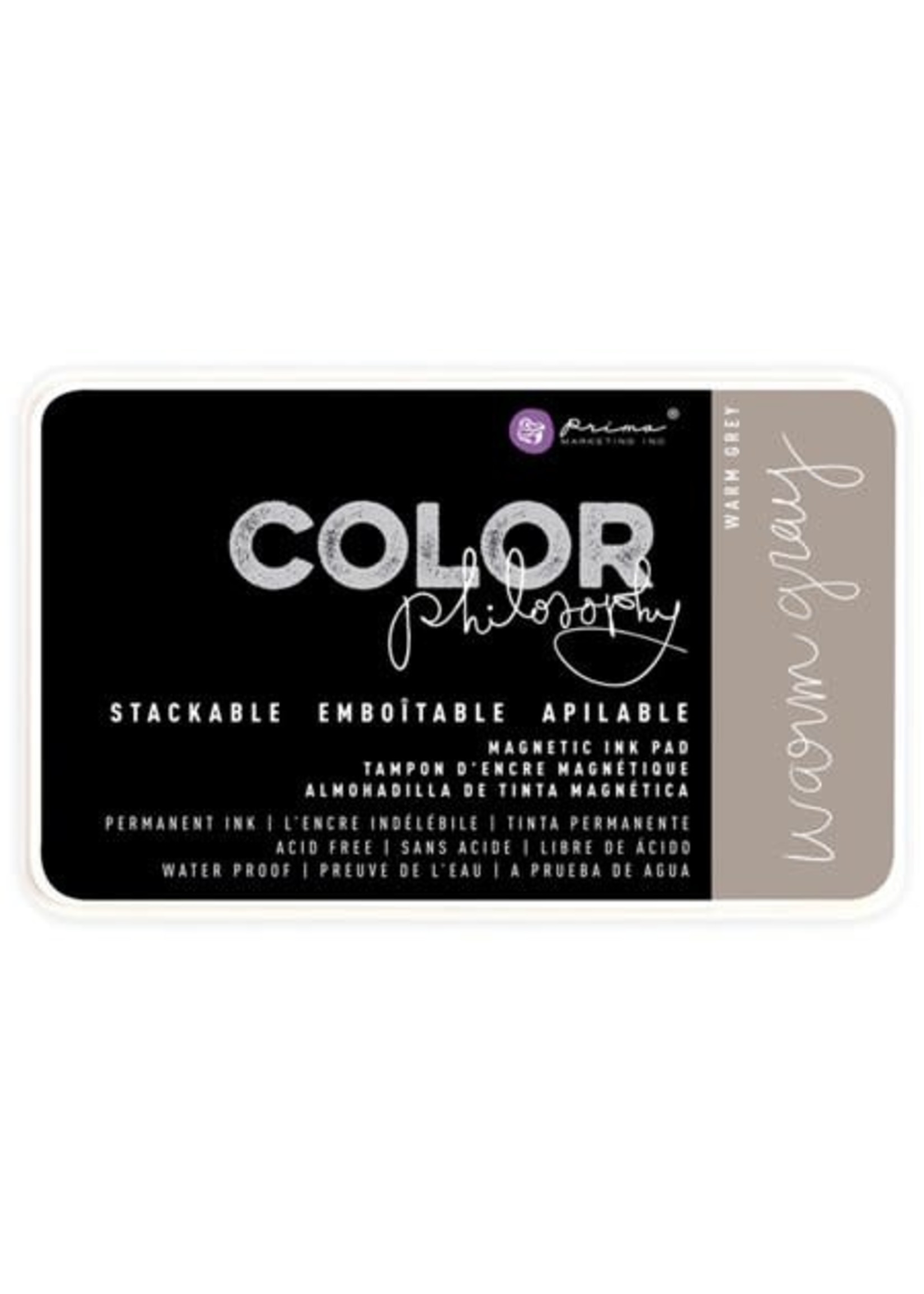 Re-Design with Prima® Warm Gray Color Philosophy Ink Pad