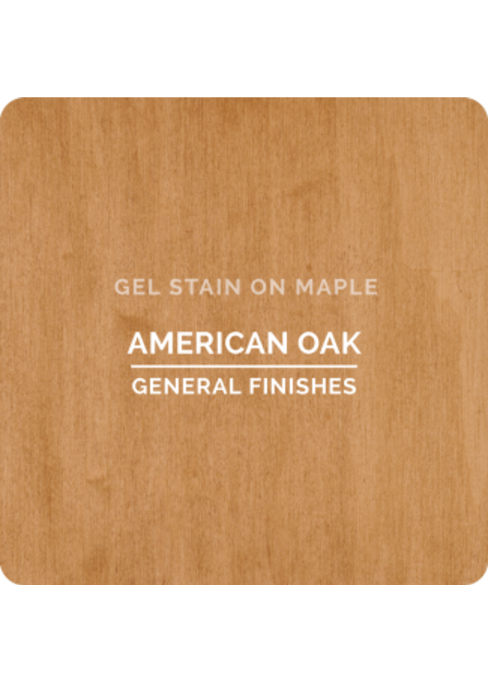 General Finishes American Oak General Finishes Gel Stain