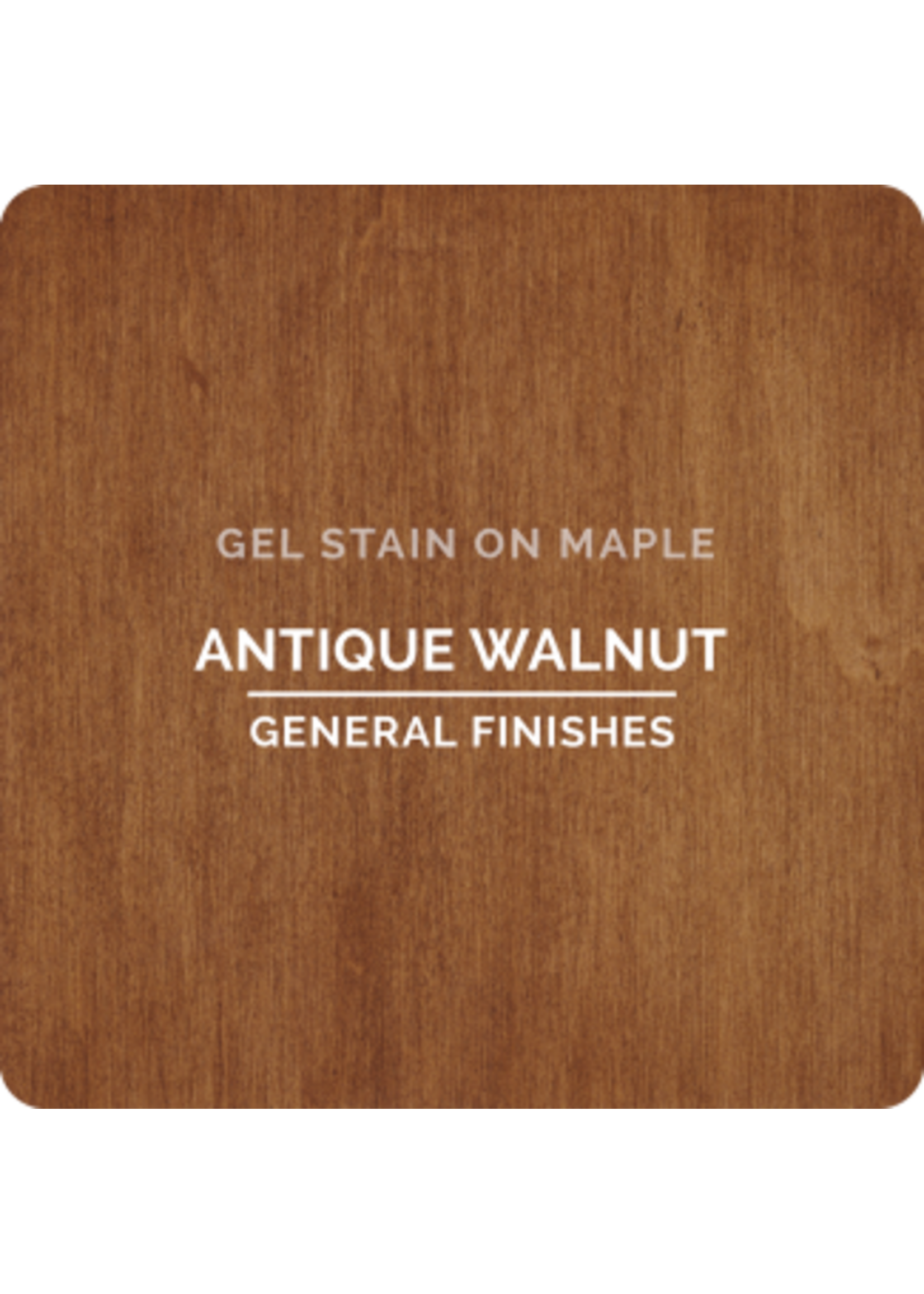 General Finishes Antique Walnut General Finishes Gel Stain