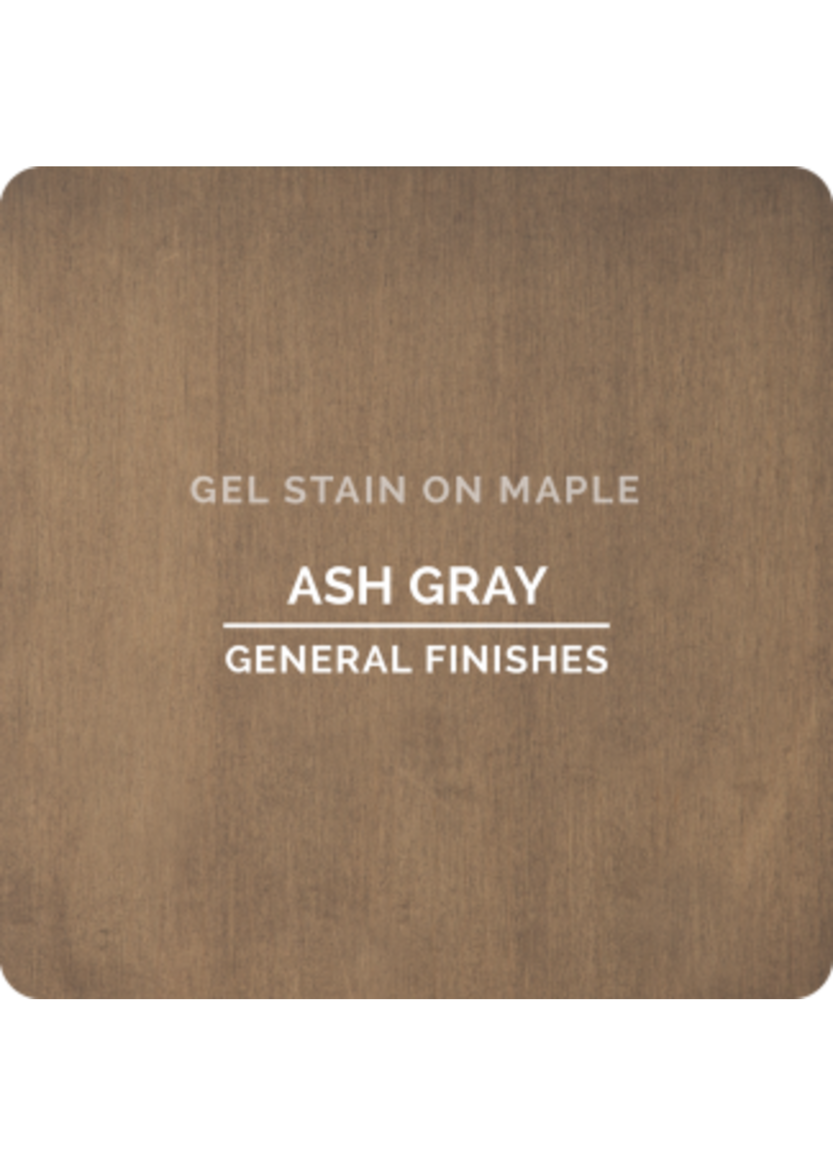 General Finishes Ash Gray General Finishes Gel Stain