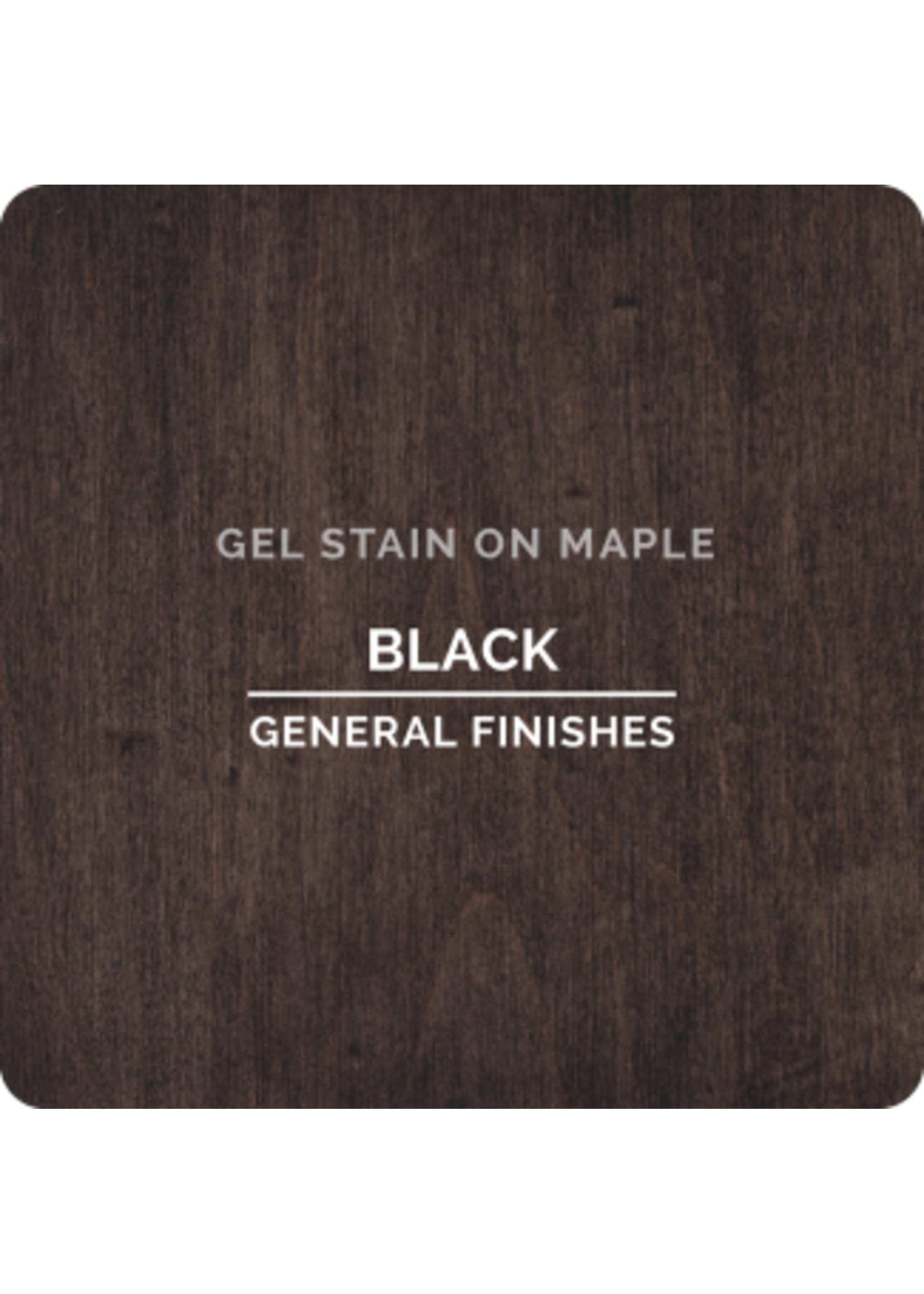 General Finishes Black General Finishes Gel Stain