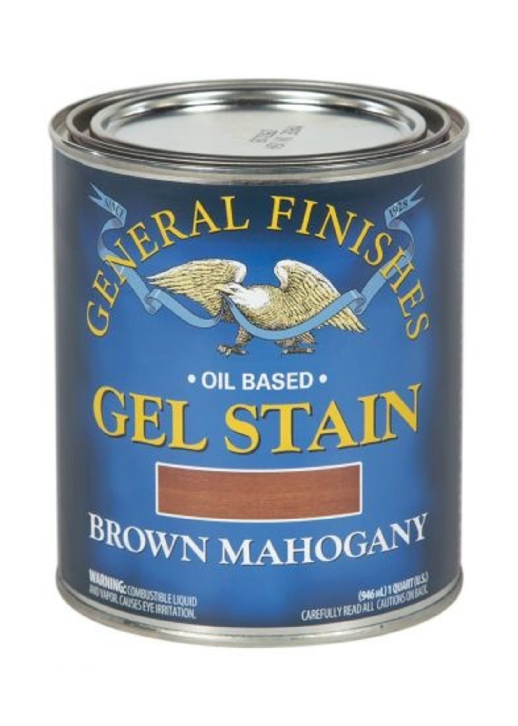General Finishes Brown Mahogany General Finishes Gel Stain