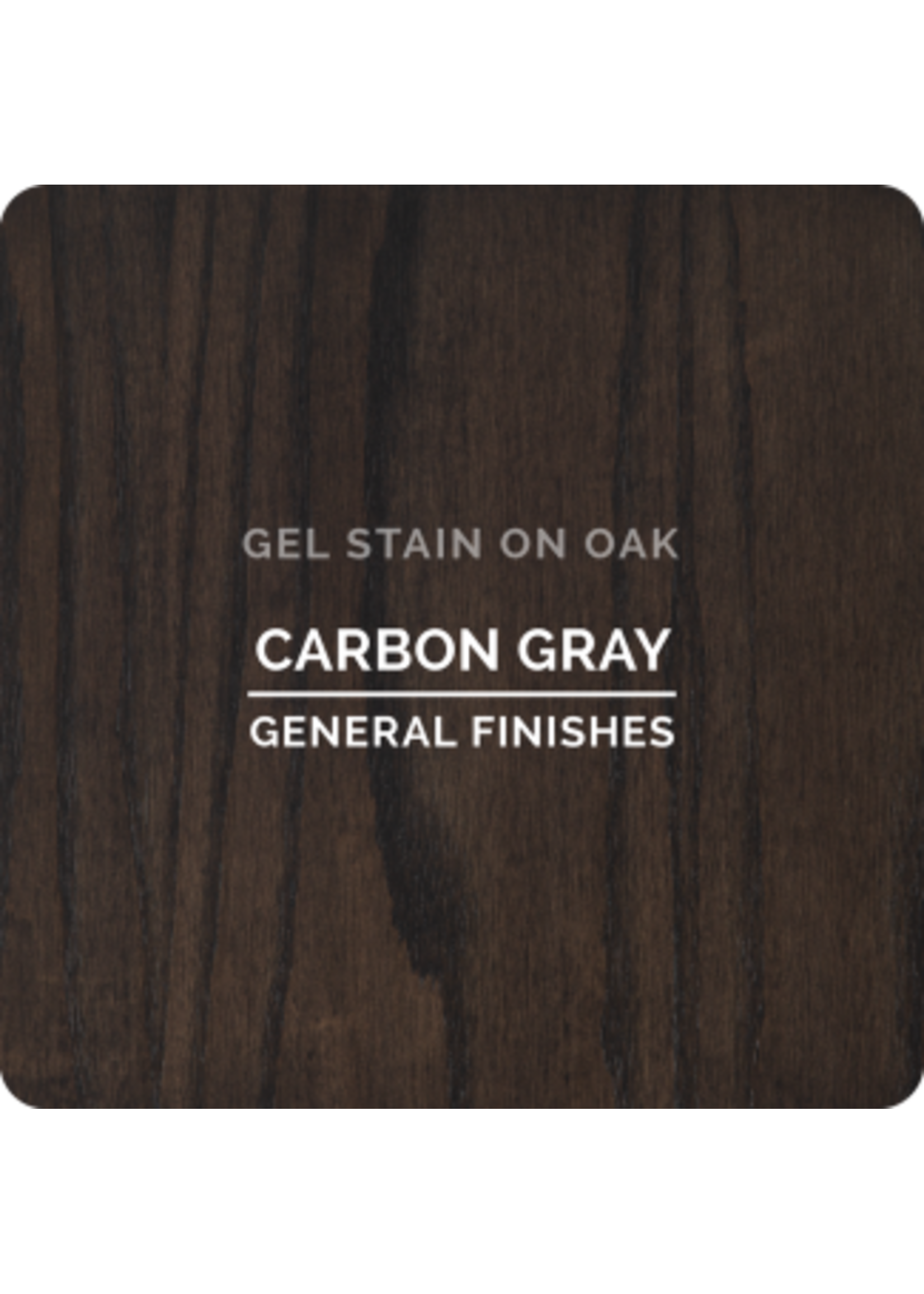 General Finishes Carbon Gray General Finishes Gel Stain