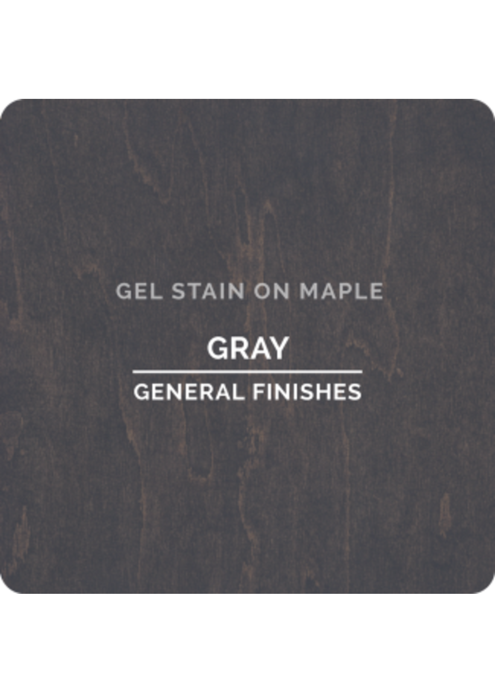 General Finishes Gray General Finishes Gel Stain