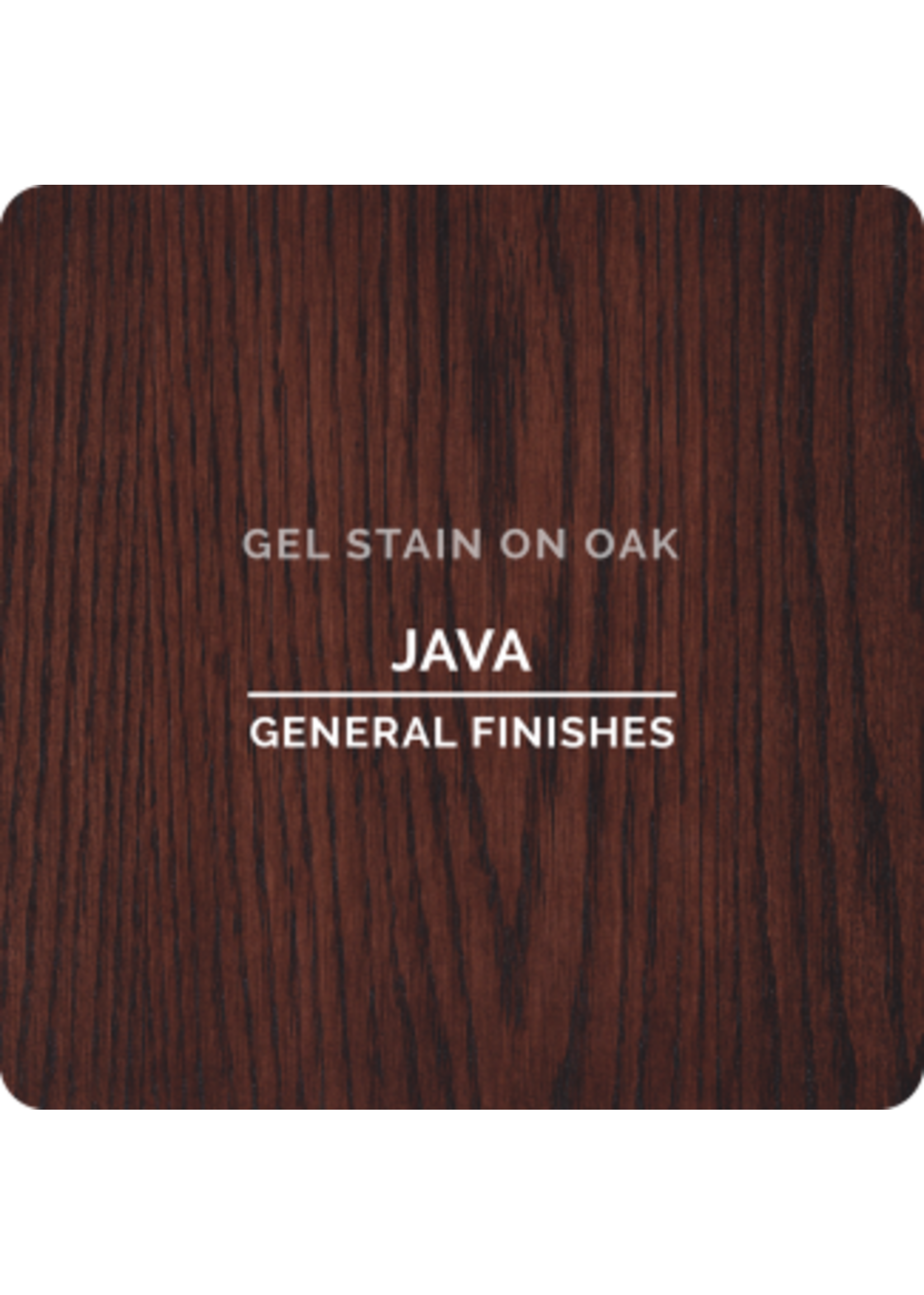 General Finishes Java General Finishes Gel Stain