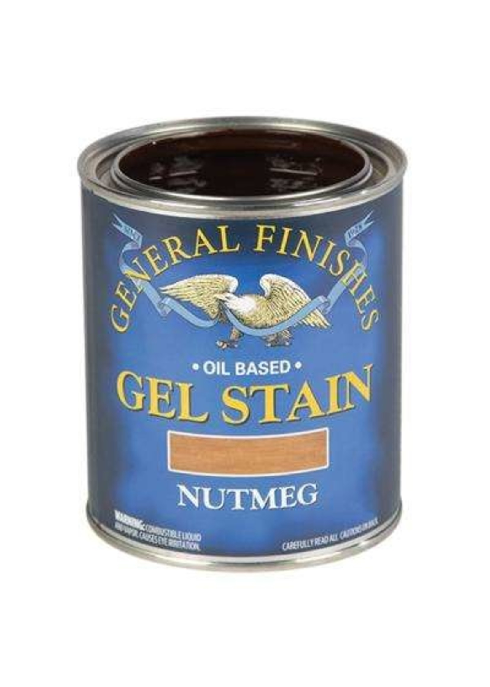 General Finishes Nutmeg  General Finishes Gel Stain