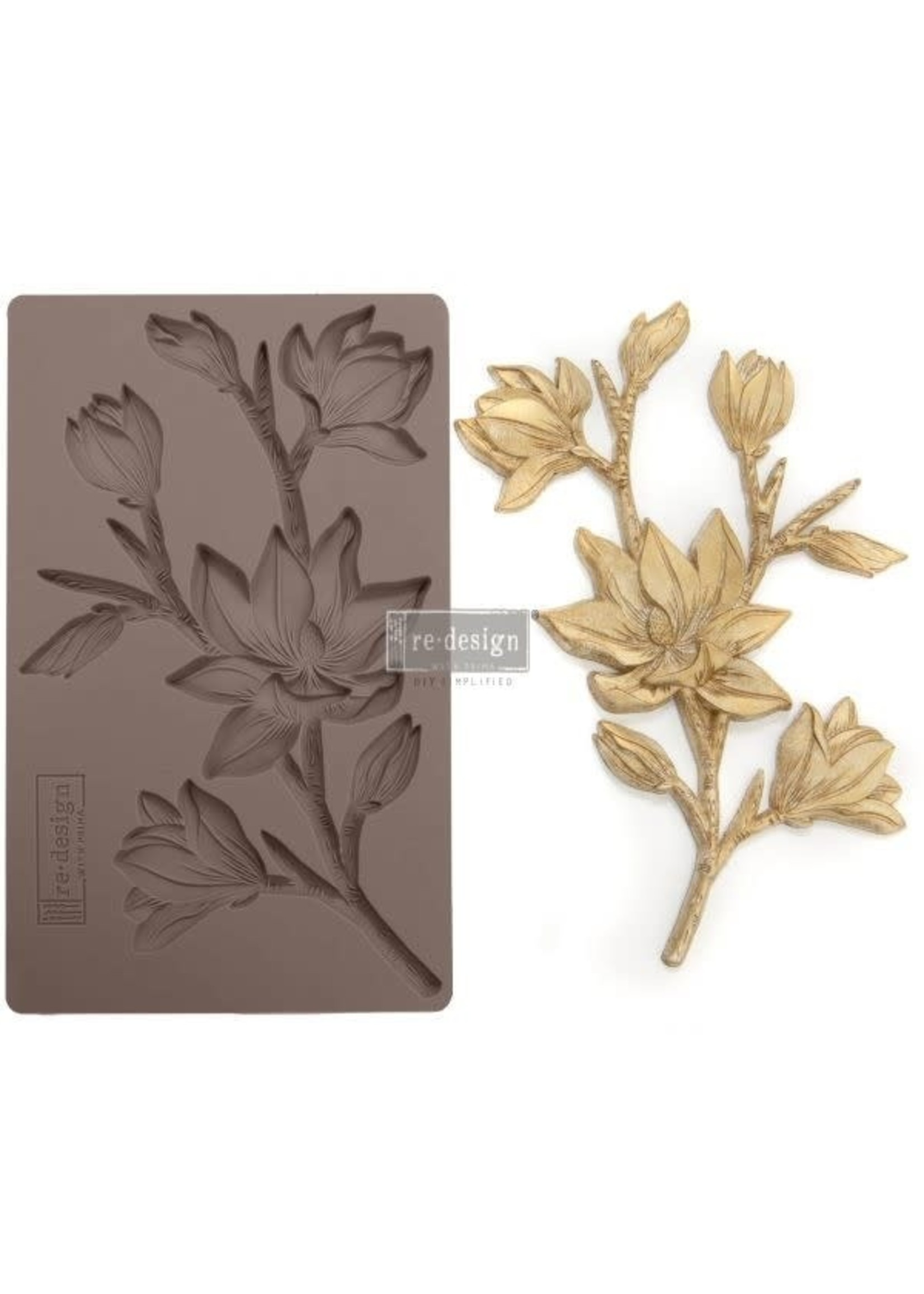 Re-Design with Prima® Forest Flora Redesign with Prima® Decor Moulds®