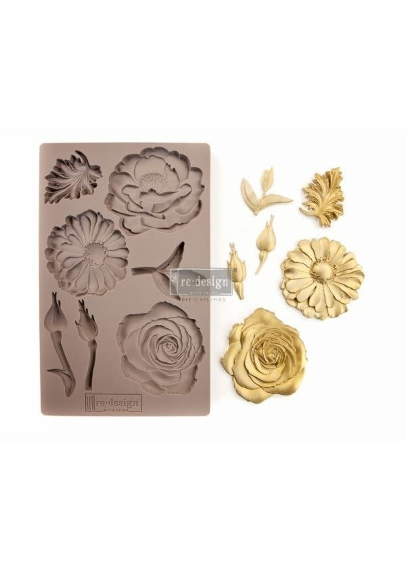 Re-Design with Prima® In the Garden Redesign with Prima® Decor Moulds®