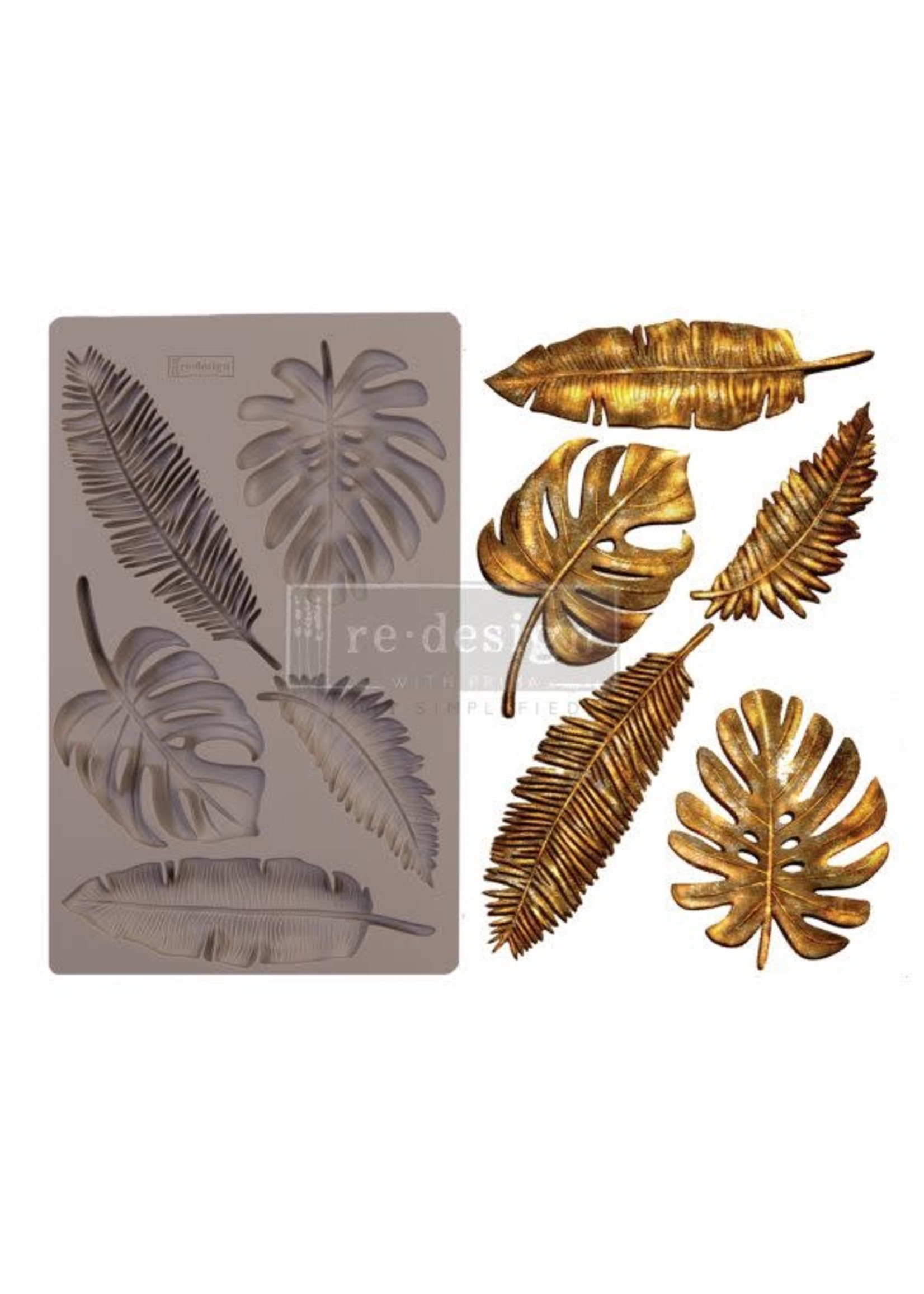 Re-Design with Prima® Monstera Redesign with Prima® Decor Moulds®