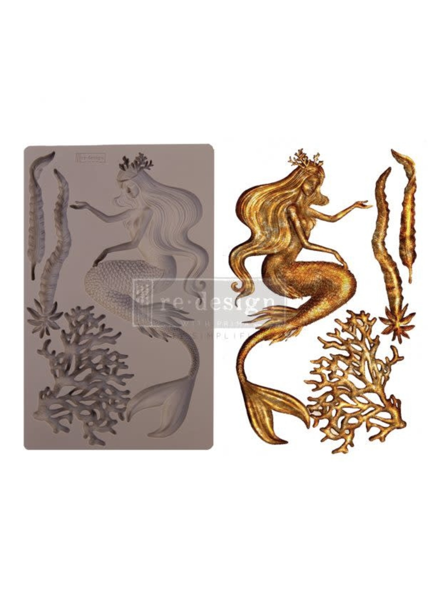 Re-Design with Prima® Sea Maven Redesign with Prima® Decor Moulds®