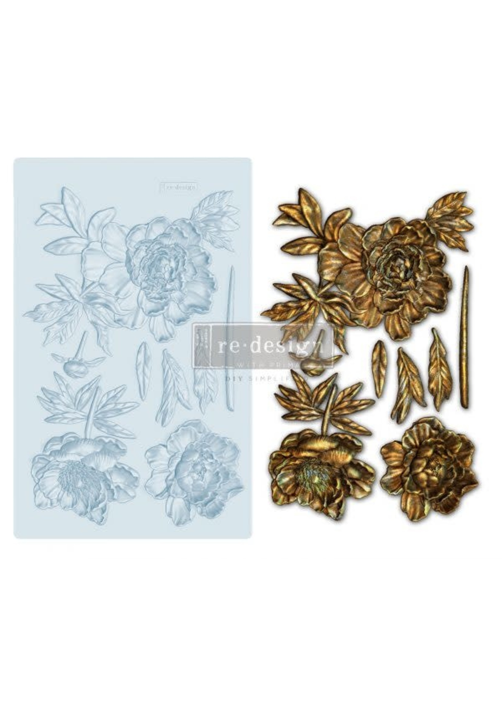 Re-Design with Prima® Wilderness Rose Redesign with Prima® Decor Moulds®