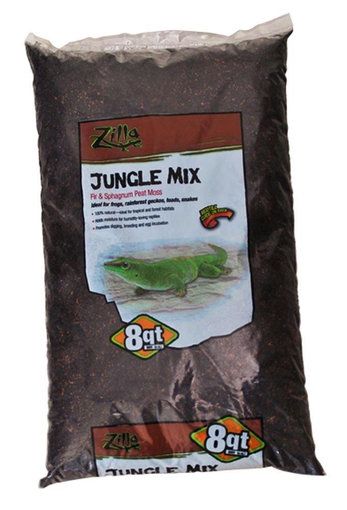 Zilla Zillabedding jungle mix 8qt