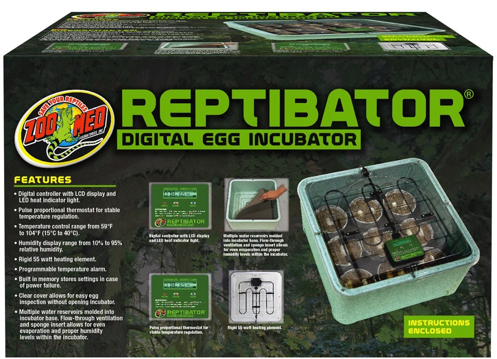 Zoo Med Labs Inc Zoo Med Labs egg incubator 55w