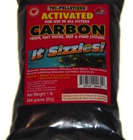 MISC FW FISH Pelletized carbon 1lbs