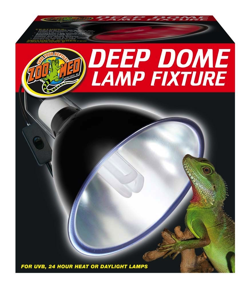 Zoo Med Labs Inc Zoo Med Labs deep dome lamp fixture