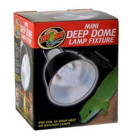 Zoo Med Labs Inc Zoo Med Labs fixture deep dome mini lamp