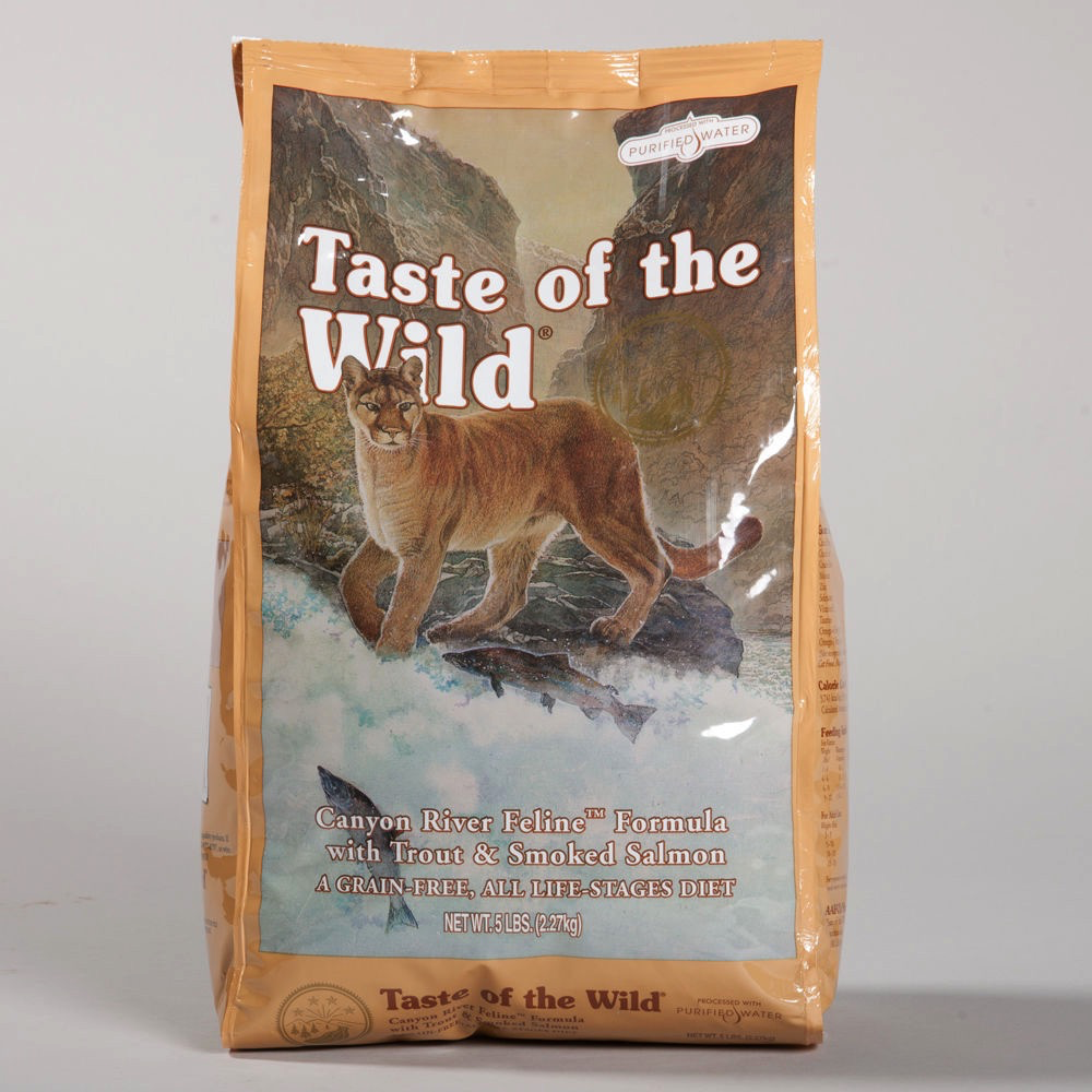 Taste Of The Wild Taste of the Wild canyon river trout and smoked salmon 5lbs