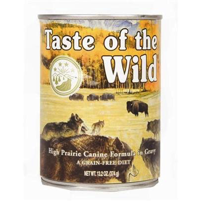 Taste Of The Wild Taste of the Wild high prairie bison and venison 13oz can