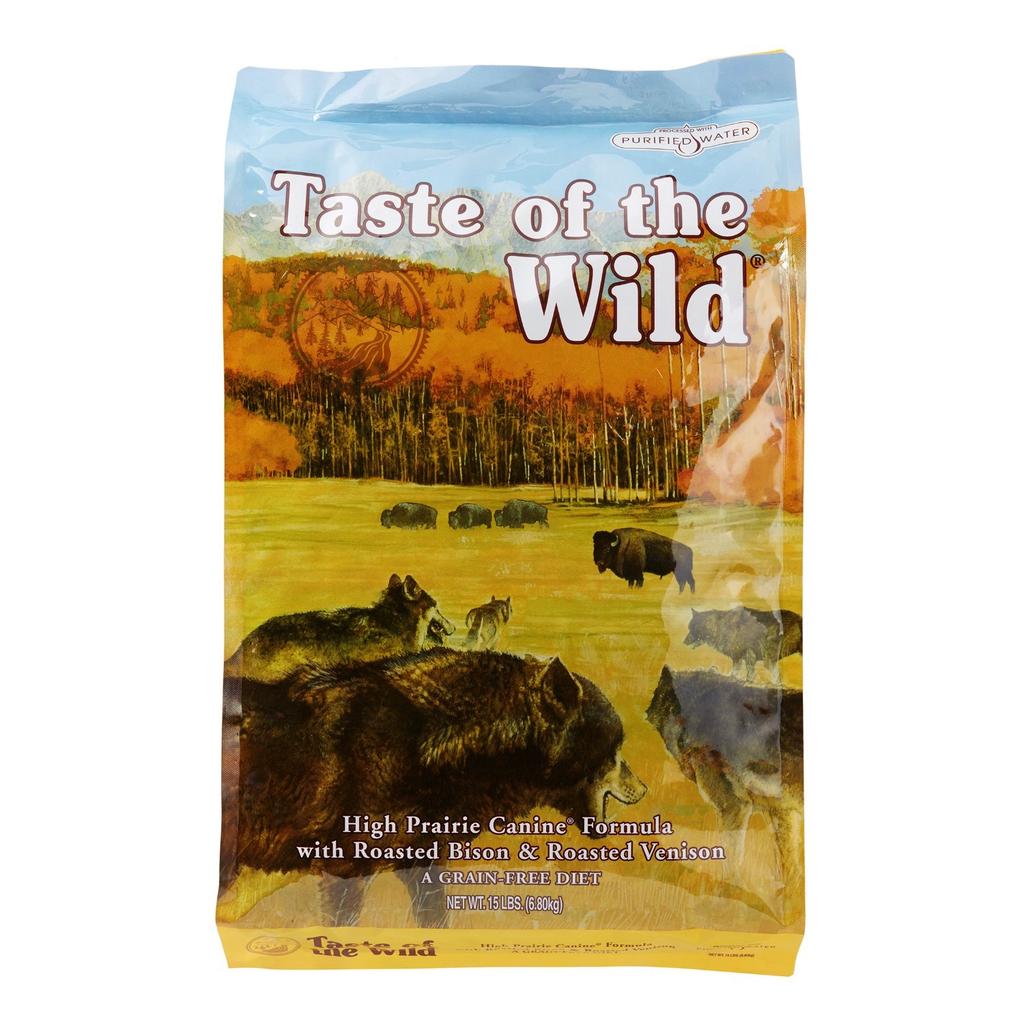 Taste Of The Wild Taste of the Wild high prairie bison and venison 14lbs