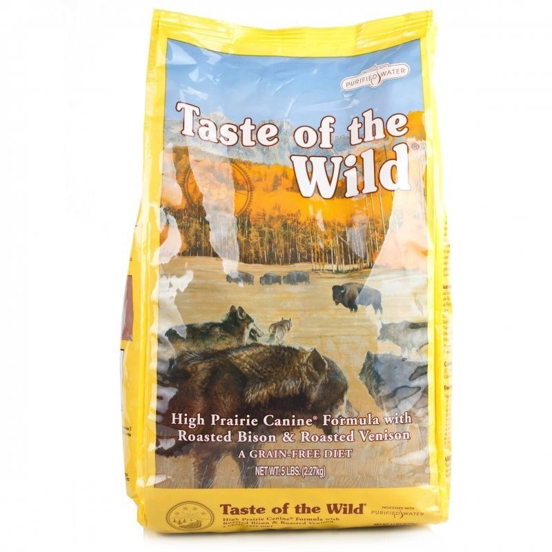 Taste Of The Wild Taste of the Wild high prairie bison and venison 5lbs