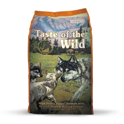 Taste Of The Wild Taste of the Wild high prairie puppy bison and venison 14lbs
