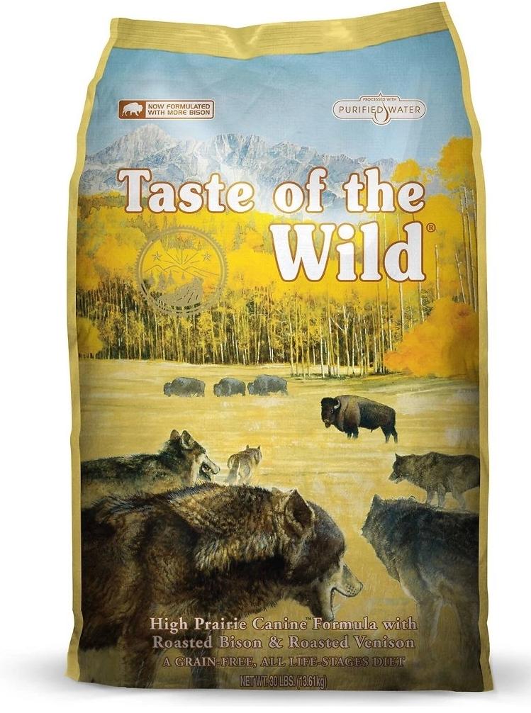 Taste Of The Wild Taste of the Wild high prairie bison and venison 28lbs