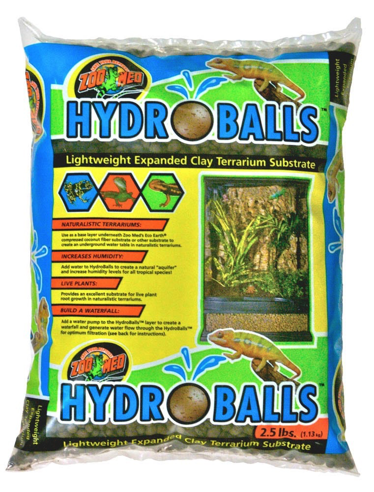 Zoo Med Labs Inc Zoo Med Labs hydroballs 2.5lbs