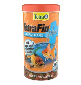 Tetra/Second Nature (UPG) Tetrafin plus goldfish flakes 7.06oz