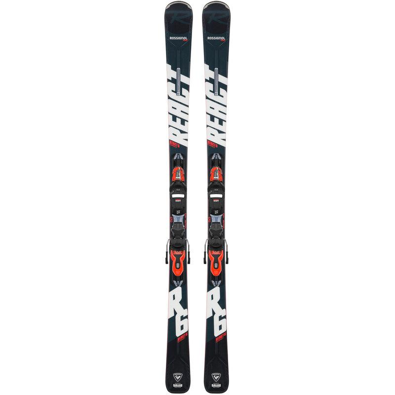 Rossignol React 6 Compact Skis + Xpress 11 GW Bindings