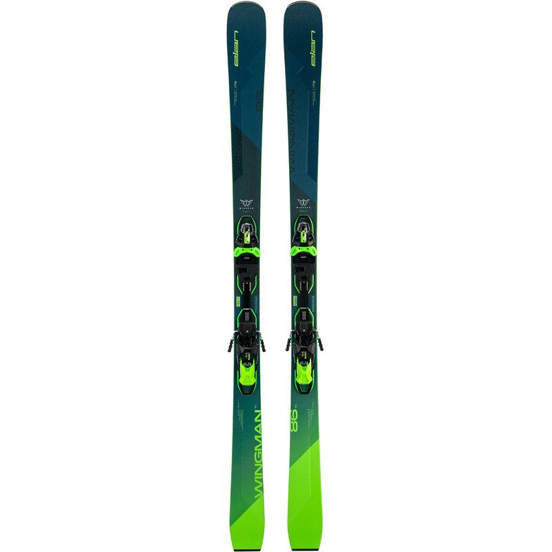 Elan  Wingman 86 TI FX Skis + EMX 11.0 Bindings