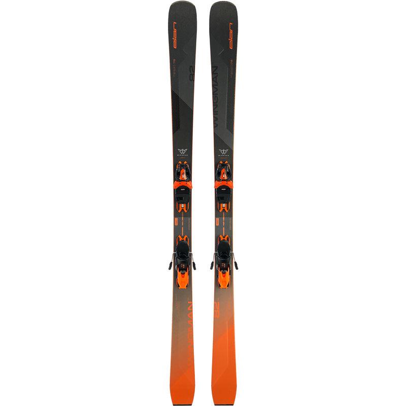Elan Wingman 82 TI PS Skis + ELX 11.0 Bindings