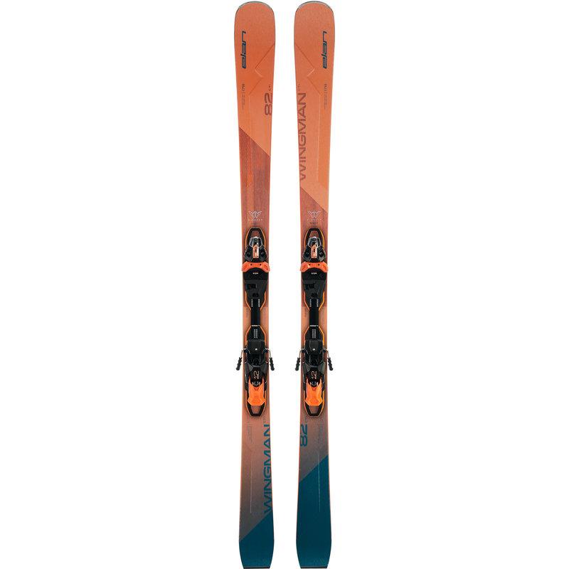 Elan  Wingman 82 CTI FX Skis + EMX 12.0 Bindings