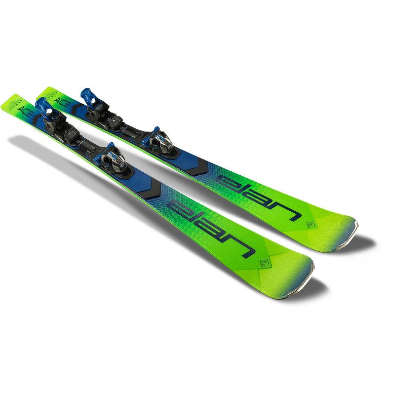 Elan  SLX Fusion X Skis + EMX12.0 Bindings