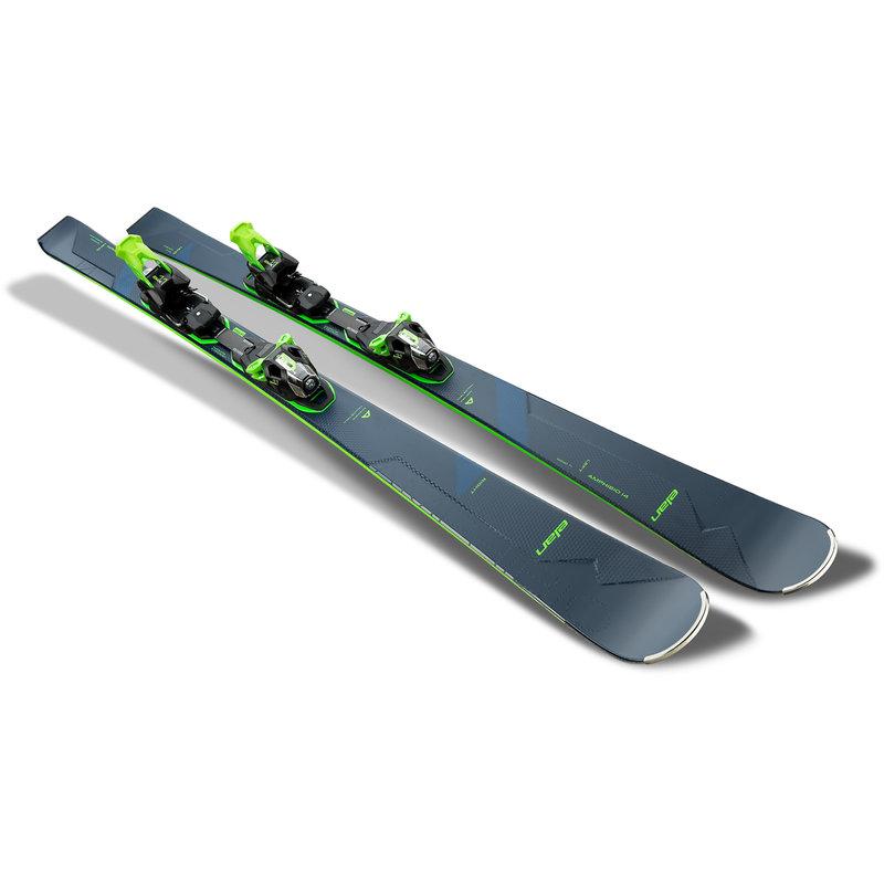 Elan  Amphibio 14 TI FX Skis + EMX11.0 Bindings