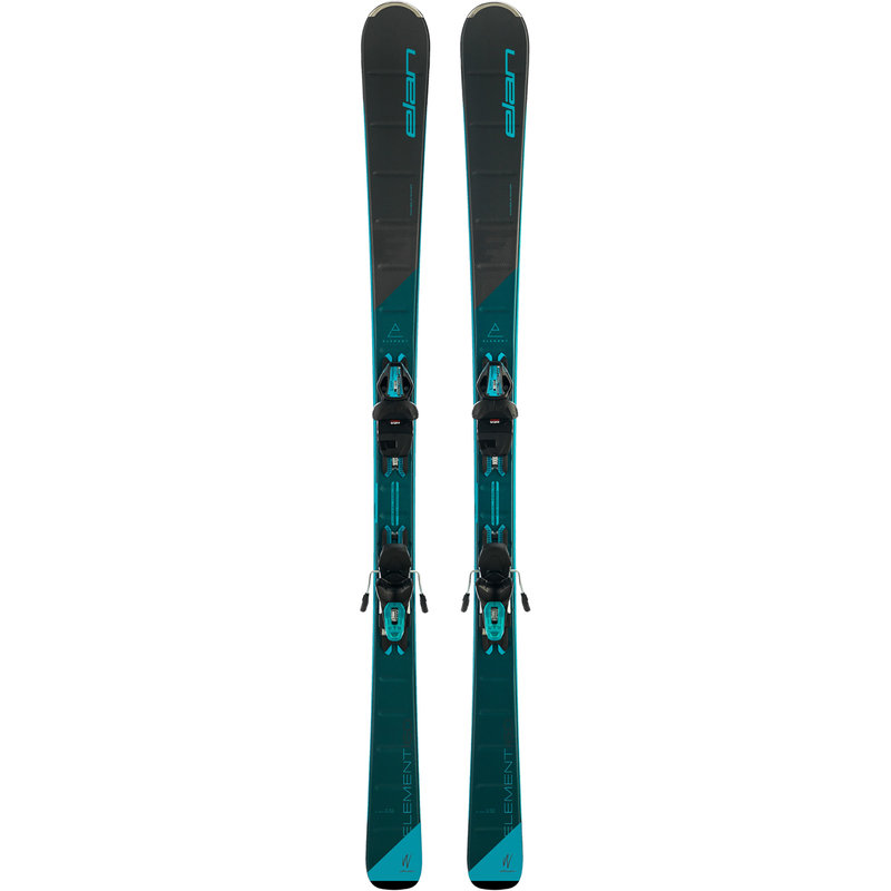 Elan ELement W Black LS Skis + ELW9.0 Bindings