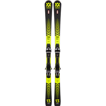 Volkl Racetiger SC black Skis + vMotion 12 GW Bindings
