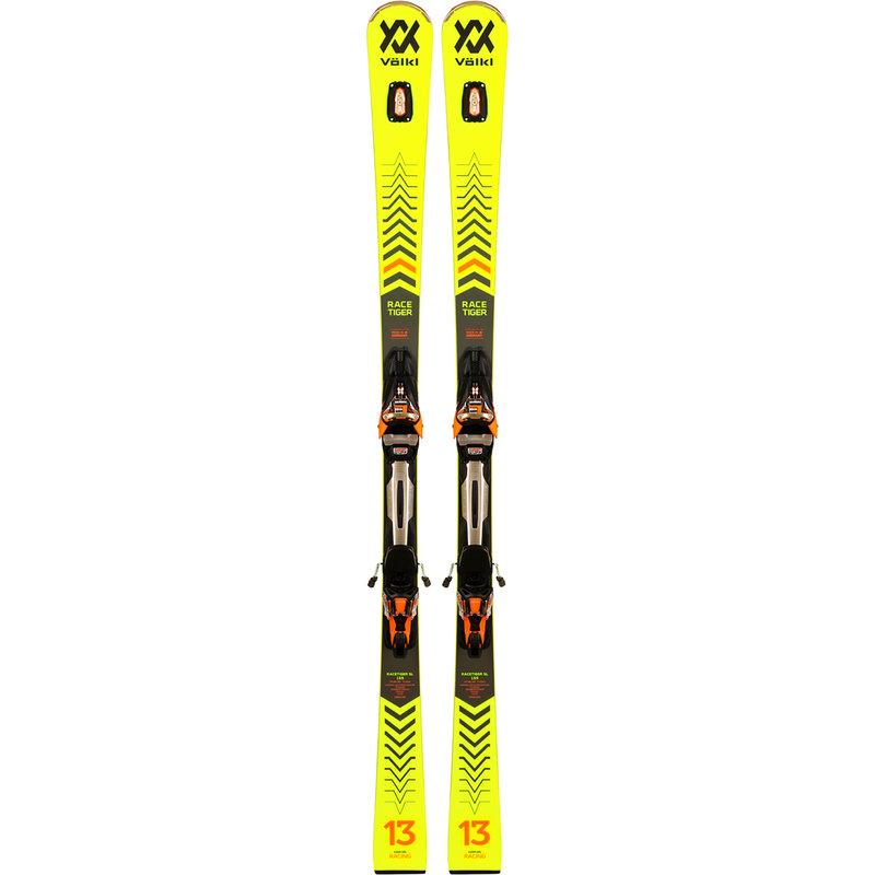 Volkl Racetiger SL Skis + rMotion2 12 GW Bindings