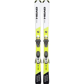 Head Supershape JRS Skis + JRS 7.5 GW CA Bindings