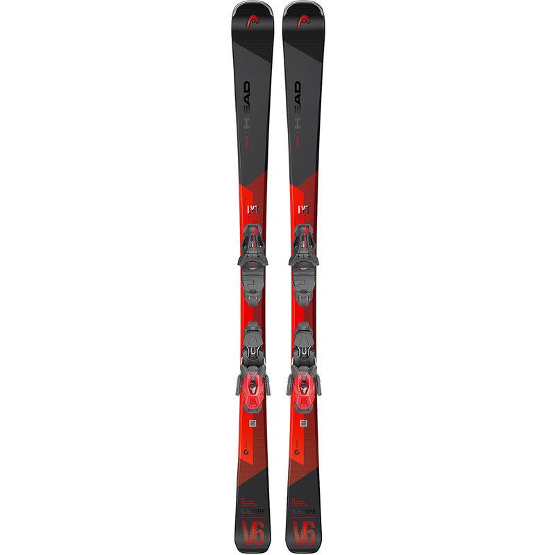 Head V-Shape V6 LYT-PR Skis + PR11 GW Bindings