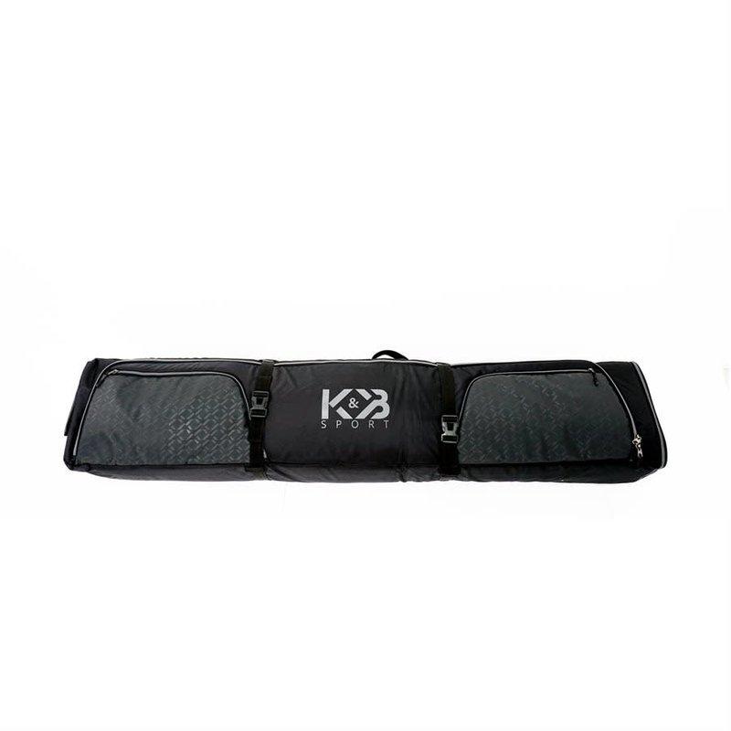K&B K&B Double Ski Bag On Wheels - Long 200 cm