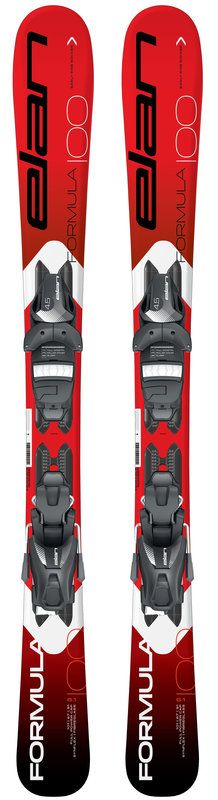Elan Formula Red QS Skis  + Fixation  EL 4.5