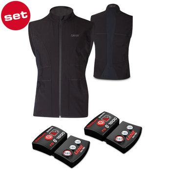 Lenz Set Of Lithium Pack  RCB1800 + Heat Vest 1.0 Men