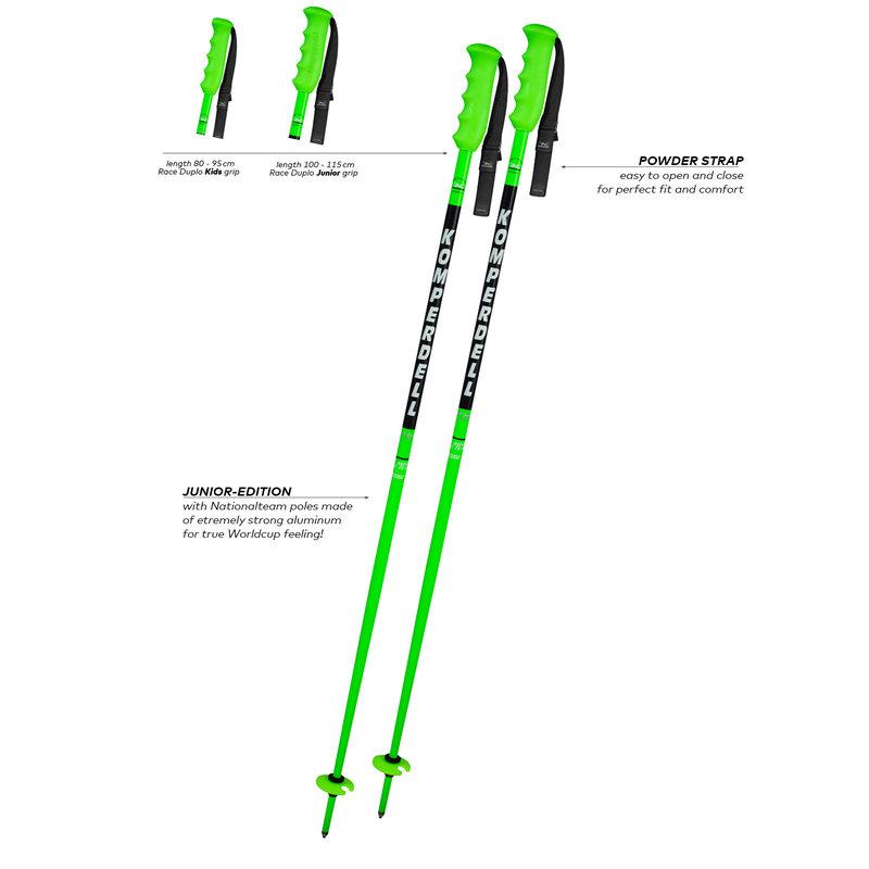 Komperdell Pole National Teal Junior