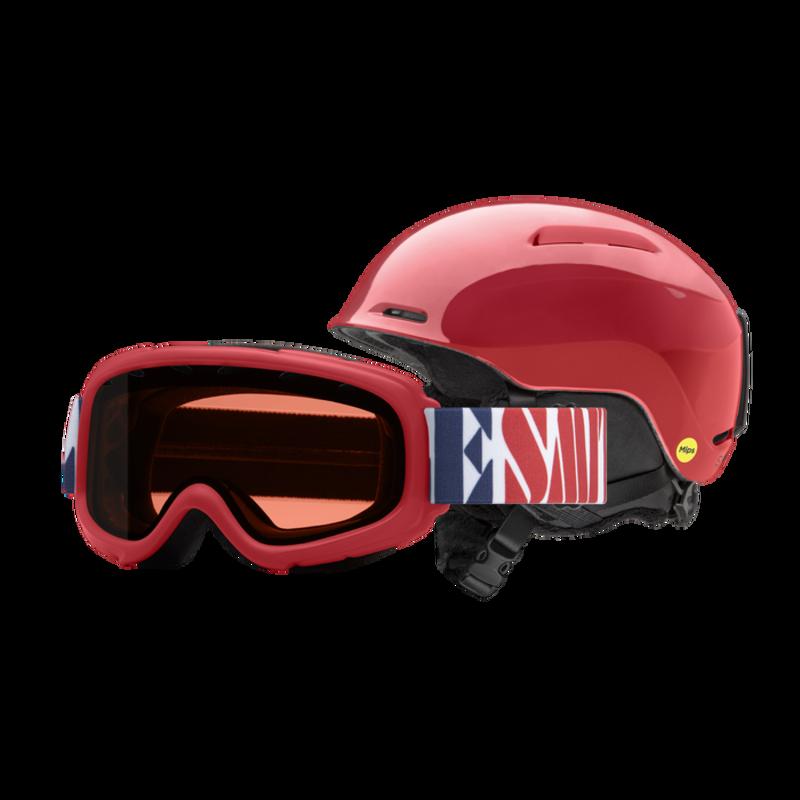 Smith Glide Jr Mips/Gambler Combo Helmet